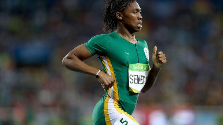 Caster Semenya campeona olímpica