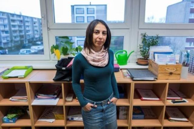 profesora siria en Alemania Hend Al Khabbaz