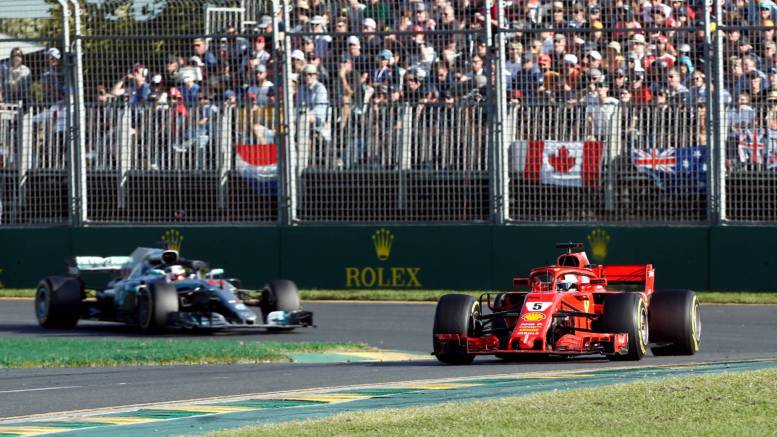 Fórmula 1-Australia-2018