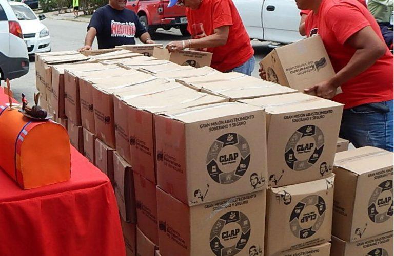 Dos cajas de Clap al mes para cada familia, confirmó Maduro