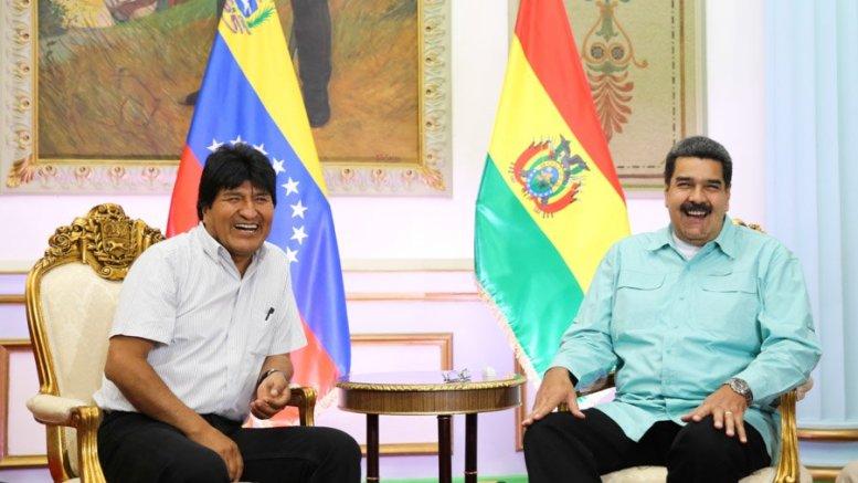 Nicolás-Maduro-Evo-Morales