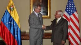 Omar Barboza Presidente de la AN se reunión con el encargado de negocios de EEUU