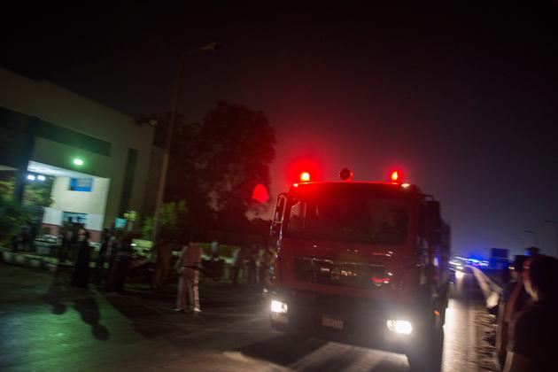 ambulancia en el cairo