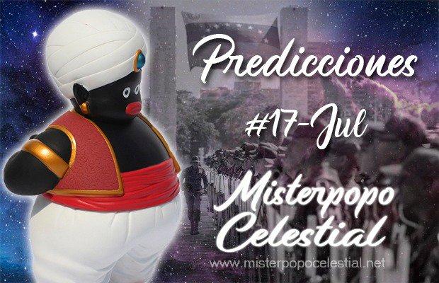 "Misterpopo Celestial @antenax2:  Predicciones #17Jul ""Clima Borrascoso, tiempos inevitables"""