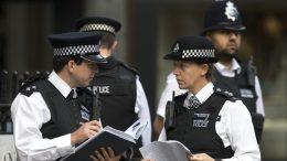 policia britanica
