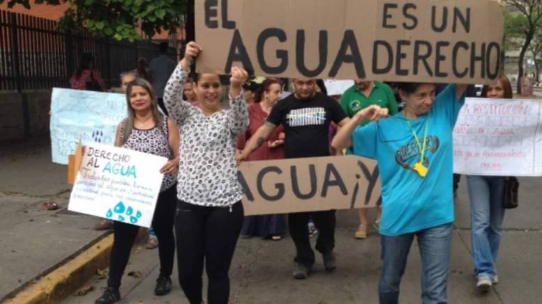protesta por servicios