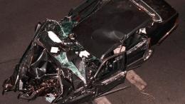 auto del accidente