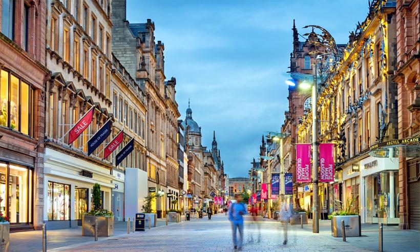 calles de escocia