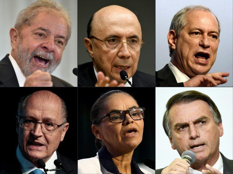 Resultado de imagen para candidatos brasil