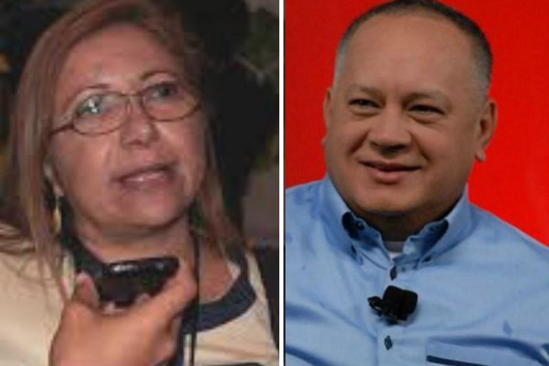 La pregunta que le hizo Sebastiana Barráez a Diosdado Cabello