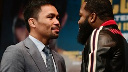 Manny Pacquiao v Adrien Broner - Press Tour