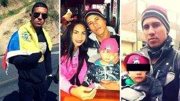 venezolano asesino de esposa hijo y cuñado