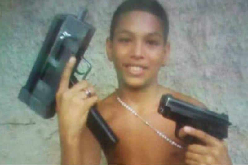 """Mataron a """"El Brayan"""" el chamo de 13 años, que lideraba banda criminal"""