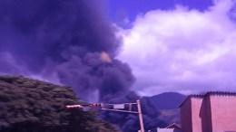 incendio planta Guatire