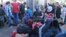 pasajeros varados en tachira