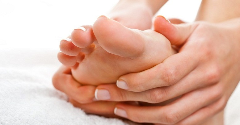 masajes del pie
