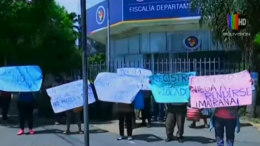 protesta de violaciones en bolivia