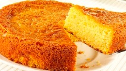 torta de auyama esponjosa