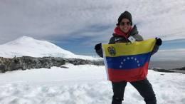 venezolana en la antartida