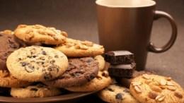 galletas de chocolate oscuro