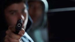asesinato con arma de fuego