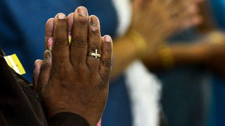 Oración en Africa
