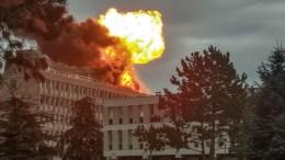 explosion en lyon