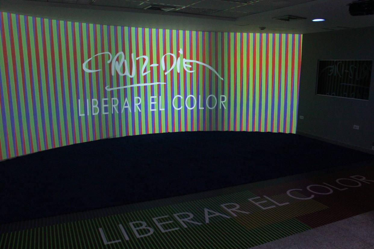 Exhibición Liberar el color de Carlos Cruz Diez