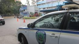 policia en hospital