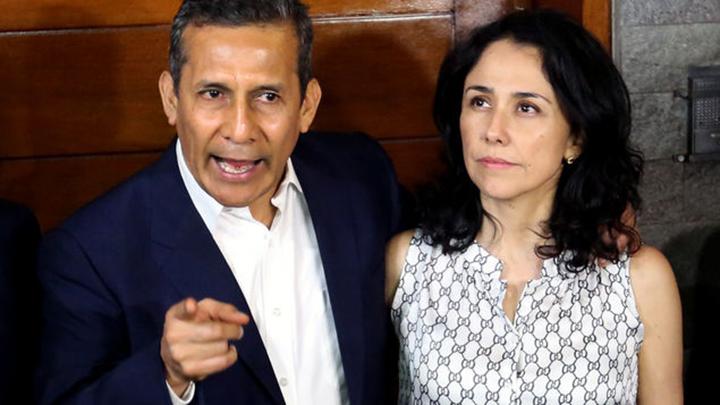 esposa del expresidente Humala