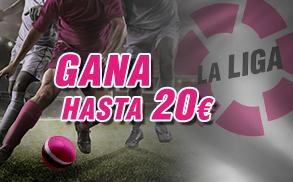 20€ wanabet la liga