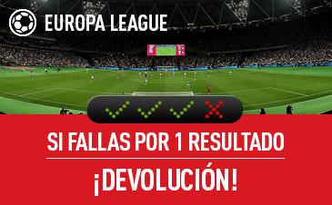 Sportium europa league combinada