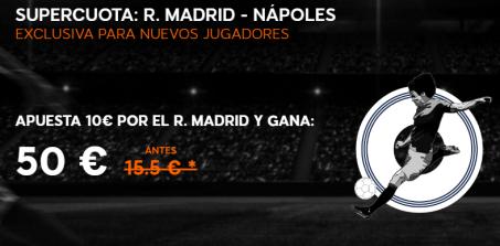 Supercuota 888sport champions madrid