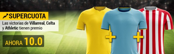 Supercuota Bwin villareal athletic celta