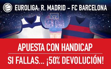 Euroliga Madrid Barcelona Sportium