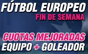Futbol europeo Fin de Semana Wanabet