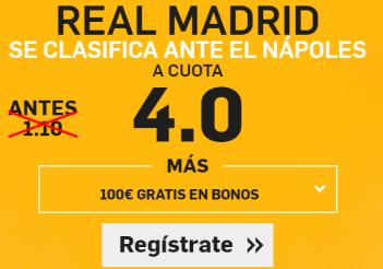 Supercuota Betfair R Madrid