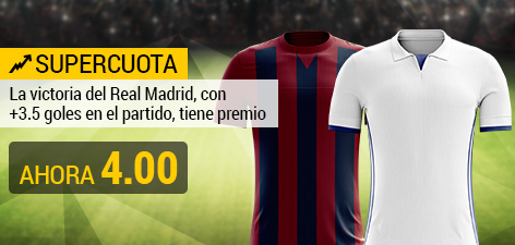 Supercuota Bwin Eibar R Madrid