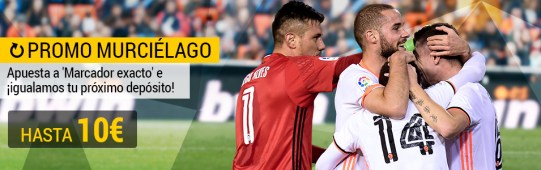 Bwin la Liga Valencia - Celta igualamos tu depósito hasta 10€