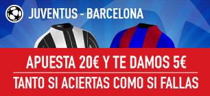 Sportium Juventus Barcelona
