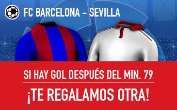 Sportium la liga Barcelona Sevilla devolucion