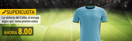 Supercuota Bwin Celta Europa League