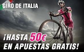 Wanabet Giro de Italia hasta 50€ apuestas gratis