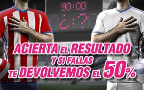 Wanabet Porra Champions Atlético - Real Madrid