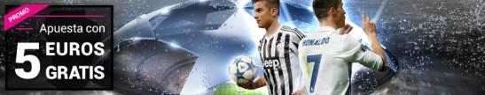 Goldenpark apuesta 5€ gratis en la final de la Champions League