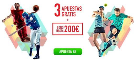 Sportium Bono bienvenida