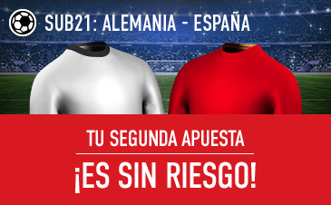 Sportium Sub12 Alemania - España segunda apuesta sin riesgo