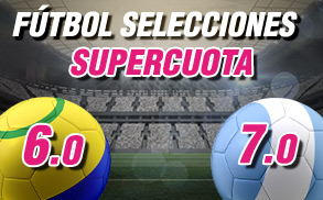 Supercuota Wanabet Selecciones Brasil Argentina