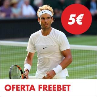 Circus Wimbledon partido del día gana una freebet 5€