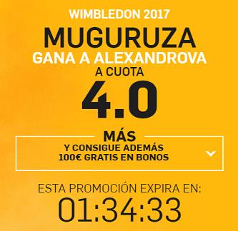 Supercuota Betfair Wimbledon 2017